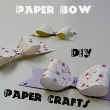 Picture Of How To Make A Cute Paper Bow For Your Gift Boxes DIY Crafts