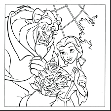 Princess Jasmine Coloring Pictures Brilliant Beauty Beast Pages Princesses Baby Aladdin Full Size