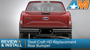2015-2016 F-150 Steel Craft HD Replacement Rear Bumper Review ... Truck Bumpers Ebay Luverne Equipment Product Information Magnum Heavy Duty Rear Bumper 2010 Gmc Sierra Facelift Ali Arc Industries Ranch Hand Wwwbumperdudecom 5124775600 Low Price Btf991blr Legend Bullnose Series Front Dodge Ram 123500 Stealth Fighter Dakota Hills Accsories Alinum Replacement Weis Fire Safety