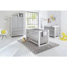set de chambre pas cher set de 3 pièces pour chambre bébé avec lit à barreaux évolutif