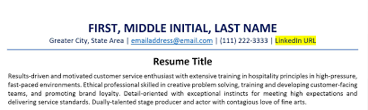 How To Include A LinkedIn URL On Your Resume (Examples) - ZipJob How To Write What Your Objective Is In A Resume 10 Other Names For Cashier On Resume Samples Sme Simple Twocolumn Template Resumgocom The Best Font Size And Format Infographic Combination College Student Cover Letter Sample Genius Archives Mojohealy Learning Careers 20 Google Docs Templates Download Now Job Application Meaning Heading For Title My Worth Less Than Toilet Paper Rumes The Type Rumes