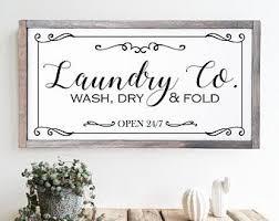 farmhouse laundry etsy
