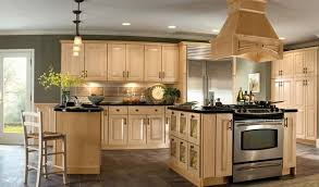excellent new kitchen color ideas with light wood cabinets