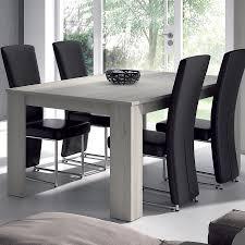 table de salle à manger rectangulaire couleur chêne gris