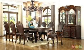 Formal Dining Room Table Centerpieces Tables Chateau Set Centerpiece
