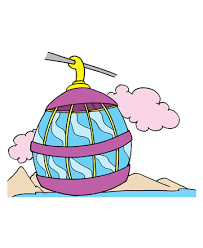 Cable Trolley Coloring Pages
