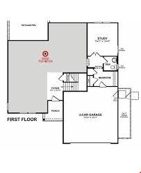 Beazer Homes Floor Plans 2007 by Morgan Plan Westfield Indiana 46074 Morgan Plan At West Rail