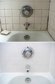shower regrout before and after from premier tile and grout in
