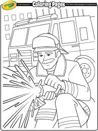 Firemen Make Such Great Idols Encourage Your Kids To Color In