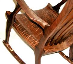 Sam Maloof Rocking Chair Class by Custom Rocking Chairs Rockers Handmade Exotic Wood Clocks