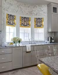 white and gray window treatments design ideas