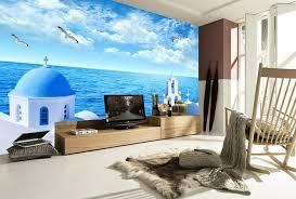 unterwasserwelt wandgestaltung im wohnzimmer archzine net