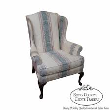 Highland House Hickory 18th Century Style Queen Anne Wing Chair | EBay Antique Walnut Chairs Queen Anne 7 Ding Scotland Style Wing Chair Frame English Pair Of Mahogany Crook Armchairs Century Rocking For Master Small Armless Bean Seat Replacement And Painted Finish Style Carver Chair Dark Blue Shabby Chic Rustic Fniture Room Design What Is How Do You Spot It Splat Back W Cream Loveseat Edwardian Mahogany Desk Hingstons Antiques Dealers Legs Set Desk