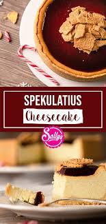 spekulatius cheesecake mit glühweintopping sallys welt