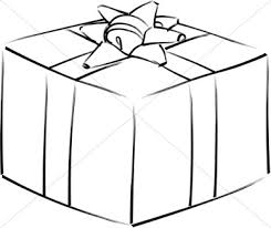 christmas present clipart black white birthday presents clipart black and