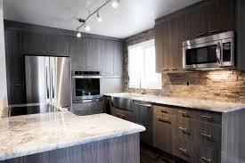 Kitchen Backsplash Ideas With Dark Wood Cabinets by Black Granite And Dark Cabinets Lighten Up Kitchen With White