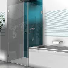 Badewanne Mit Dusche Eckdusche Mit Glastür Und Seitenteil