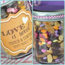 30 Ideas To Fill Your DIY Mason Jar Wedding Favors With