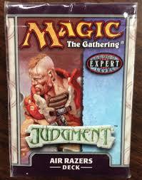 Magic The Gathering Premade Decks Ebay by Mtg Magic Judgment Spectral Slam Theme Deck Read Pre Con Judgement