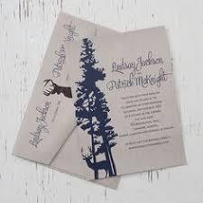 Rustic Kraft Deer Elegant Wedding Invite By Pink Umbrella Designs Canmore Banff And Calgary Stationery