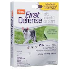flea treatment for cats hartz flea tick defense topical treatment for cats