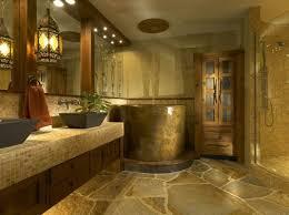 wall bathroom pebble wall tile chrome
