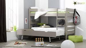 decorer chambre a coucher denfant lit avec modele enfant pas coucher deco superpose bois et