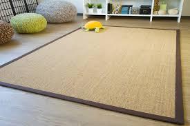 sisal teppich brazil bordürenteppich fünf farben und