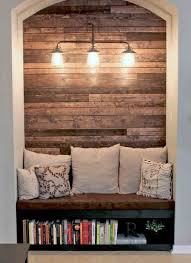 S Pallet Wood Wall Fireplace To Warm Your Inspiration Photo Gallery Transformed Faux Into Cozy Reading