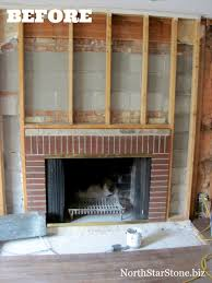 100 Brick Ceiling Does My Stone Fireplace Have To Extend To The North Star