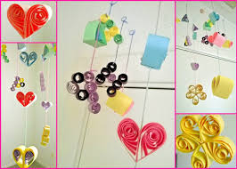 Latest Wall Art Ideas For Living Room Paper Decoration How To Make Decorations Birthday Party With Ribbons