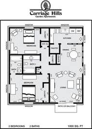 2 bedroom house plans 1000 square feet 1000 square feet 2