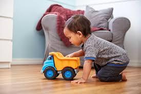 Amazon.com: Green Toys Dump Truck Vehicle Toy, Orange/Blue, 10 X 7.5 ...