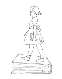 Fee Ruby Bridges Coloring Page