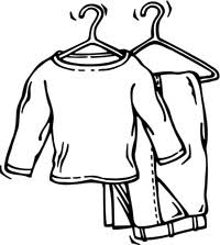 Spare Clothes Clipart 1