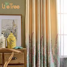 rideaux de sur mesure lavande imprimé moderne rideaux gradient motif pour salon plat
