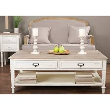 Baxton Studio Dauphine Traditional French Accent Coffee Table In