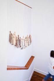 Easy DIY Tassel Wall Hanging