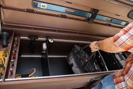 Storage : Service Truck Tool Storage Ideas Also Pickup Truck Storage ... How To Decorate Truck Tool Box Redesigns Your Home With More Boxes Cap World The Images Collection Of Toolbox Truck Bed Tool Box Organizer Pickup Organizer Full Image For Hi Mount Or Lo Tools Equipment Contractor Talk Single Lid Highway Products Inc Electrician Professional Electrical 5th Wheel Dakota Hills Bumpers Accsories Flatbeds Bodies