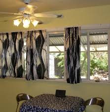 Kitchen Curtain Ideas Diy by Stunning Long Kitchen Curtains And Choosing The Right Window Ideas