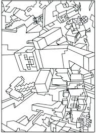 Best Coloring Pages Of Minecraft Mutant Creeper 5961 In