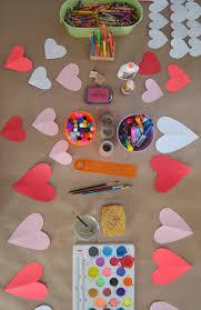 Craft Table Valentines