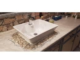 toom kreativwerkstatt waschbecken mit mosaikumrandung