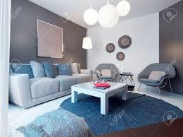 gemütliches wohnzimmer minimalistischen stil 3d übertragen