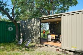 100 Conex Cabin Offgrid Shipping Container Cabin Has A Warm Wooden Interior