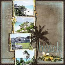 17 Best ideas about Beach Scrapbook Scrapbook ideas