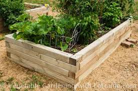 4x4 raised bed ve able garden Fasten each tier on to the one
