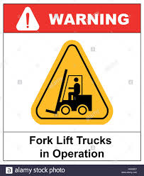 100 Truck Sign Forklift Truck Sign Symbol Of Threat Alert Hazard Warning Icon