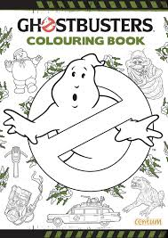 Ghostbusters Colouring Book 9781910917176 Amazon Books