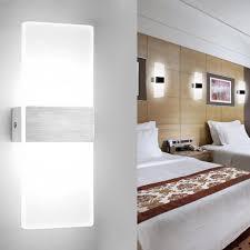 vingo led wandleuchte innen 6w modern wandle acryl wandbeleuchtung fuer wohnzimmer schlafzimmer treppenhaus flur kaltweiss